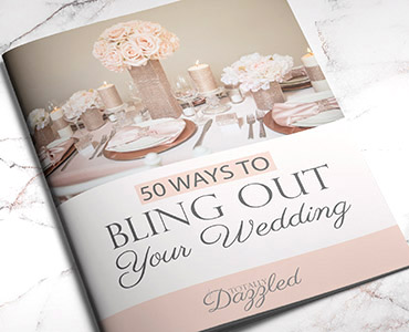 Wedding Bling Brochure